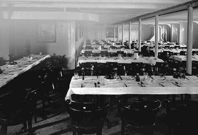 High Quality Third Class Dining Room